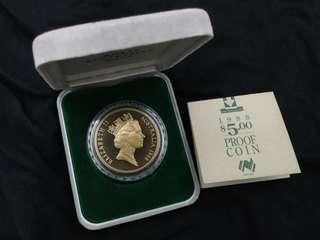Proof Coin 5$ 1988