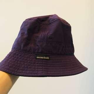 Montbell kids hat / purple