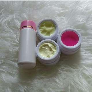 Paket  whitening glowing A529