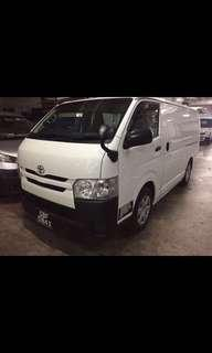 Toyota hiace ( m ) rental monthly only