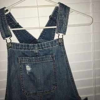 Just jeans denim pinafore
