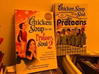 Chicken Soup for Preteens 1 & 2