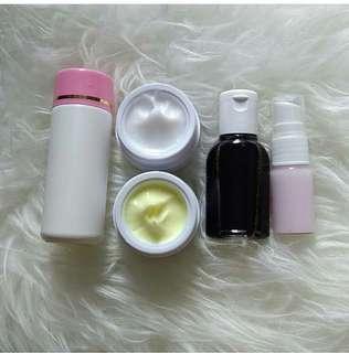 Paket  lengkap whitening kojic acid A524
