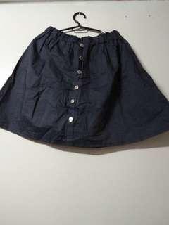 Htp denim skirt
