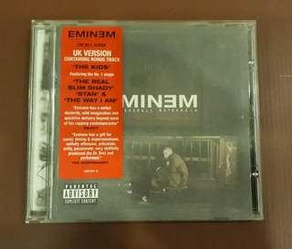 CD Eminem - The Marshall Mathers LP ( EU Press Uncensored Version )