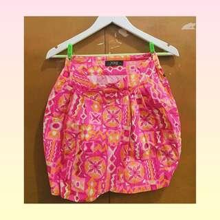 Hug Floral Pink Skirt