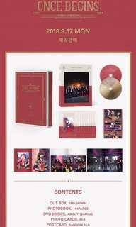 Twice once begins DVD preorder