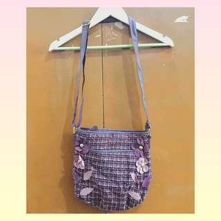 Repriced!!! Purple Sling Bag
