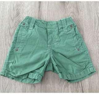 Timberland Green Baby Shorts