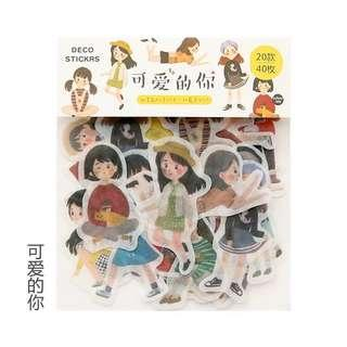 Stickers bag