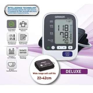 🚚 Large Cuff - Automatic Omron Blood Pressure Monitor - HEM 7130L - 60 Memories with Date and Time - - Brand New!