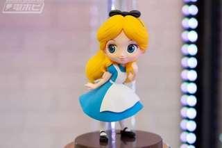 預訂 1月 Banpresto 日版 Q posket Petit 迷你版 Disney 迪士尼 公主系列 Alice in the Wonderland 愛麗絲 Alice