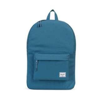 HERSCHEL SUPPLY CO. INDIAN TEAL CLASSIC BACKPACK 經典款藍綠色背囊