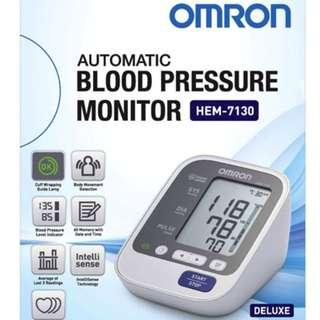 🚚 Omron Automatic Blood Pressure Monitor - HEM 7130 - 60 Memories with Date and Time - Brand New!