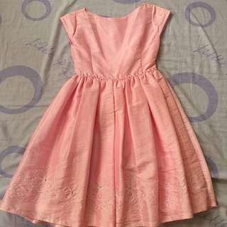 applause • pastel pink dress