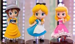 預訂 1月 Banpresto 日版 Q posket Petit 迷你版 Disney 迪士尼 公主系列 灰姑娘 Cinderella Alice in the Wonderland Alice Tarzan 泰山 Jane Porter 珍妮 3款