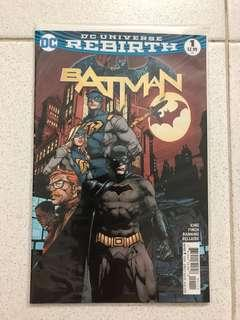 Batman #1 (Rebirth)