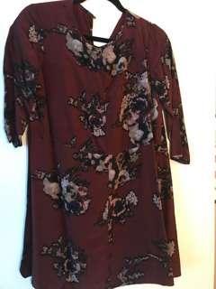 Aritzia Wilfred dress 3/4 sleeves