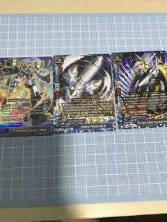 Buddyfight Hero world triple and double rares