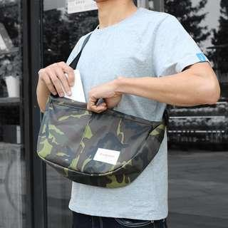 🚚 💥CHEAPEST - End & Start Camo Dome Sling Messenger Fixie bag