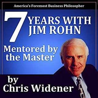 7 Years with Jim Rohn Mentored by a Master 📕e-book
