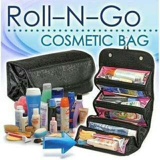 Roll-n-go makeup organizer