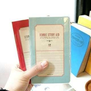 Iconic study aid slim version red 韓國文具 made in korea