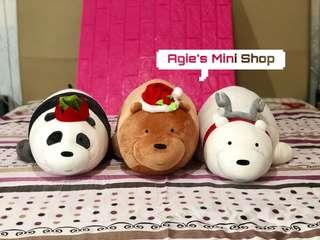 We bare bears Miniso 25' inches plushie