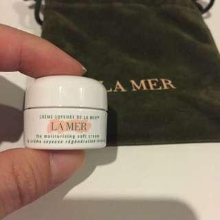 La Mer the moisturising Soft cream 3.5ml