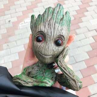 Groot ornaments ideal for fishtank, gardening flowerpot , stationary and etc Be Creative