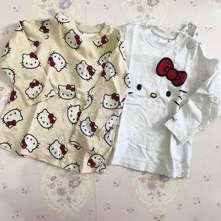 Preloved HnM Hello Kitty Girl Top
