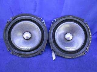 Alpine DLC-177R 6.5 Inch Mid Bass Speaker free speaker cover