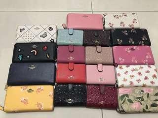 (18/09/18)Original Ready Stock women wallet men purs clutch