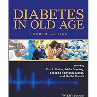 ( eBook Kedokteran ) Diabetes in Old Age, 4th Edition