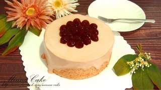 伯爵茶珍珠流心戚風蛋糕