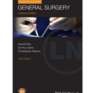 ( eBook Kedokteran ) General Surgery 13th Edition