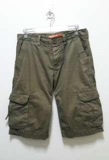 🚚 🔥Superdry 極度乾燥 工作褲 短褲 百搭 休閒 稀有 老品 古著 復古 vintage