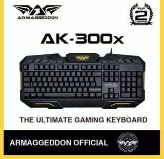 Armageddon Gaming Keyboard AK300X