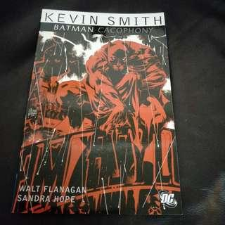 DC Comic Batman Cacophony 2010 TPB by Kevin Smith & Walter Flanagan !