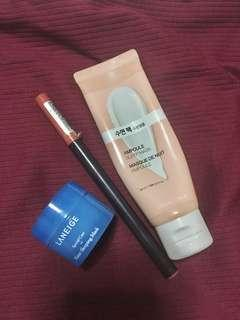 Korean Beauty Bundle Laneige, The Face Shop, Etude House