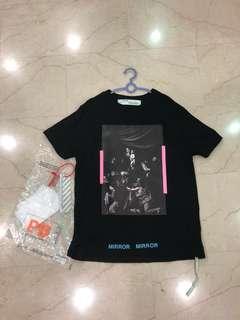 XXS Off White Caravaggio Tee Black