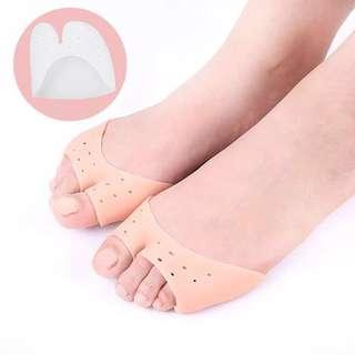 Instock 1Pair Toe Protector Toe Support Shoe Covers High Heels Pointed Toes Set Silicone Protective Toe Sleeve Orthopedic