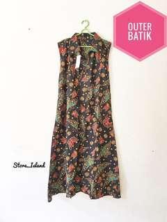 Outer Batik / Long Cardi