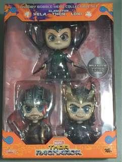 Cosbaby Hela, Thor, Loki Set