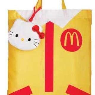 Hello Kitty x 麥當勞叔叔袋 | Hello Kitty x McDonald's tote bag
