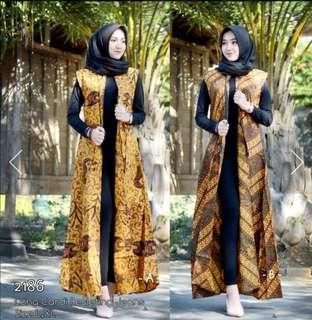 Outer Batik / Long Cardi Dress