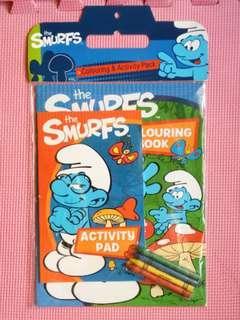 (BNEW) Smurfs Activity Set