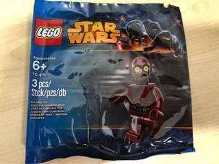 Lego Starwars Poly Bag -$18