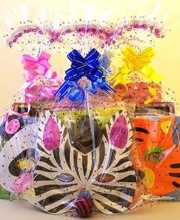 Goodie bag, goody bag, birthday packs, children's day, animal masks, Halloween goodie bag, Christmas goodie bag