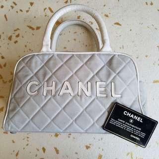 AUTHENTIC CHANEL CANVAS BOSTON TOTE BAG - SIZE 27 X 16 X 9 CM APPROX - [PREORDER ITEM]